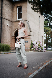 Daniella Robins - Asos Trousers - Soft Sages & Matchy Matchy Accessories
