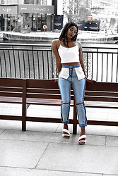 Eunice Addo -  - Inside out jeans