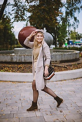 Aleksandra Siara - Fiorelli Bag - Earth colors look for autumn