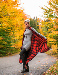 Carolyn W - Target Plaid, Femme Luxe Grey, Femme Luxe Croc, Red & Black - Plaid Forever
