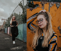 Emma Reay - Shein Dungarees Gifted - The £40 outfit challenge
