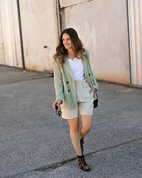 Jenelle Witty -  - BLAZER AND SHORTS