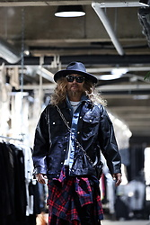 INWON LEE - Byther Hat, Byther Leather Jacket, Logo Patch Leather Waist Hip Bag - Street Punk On the Block