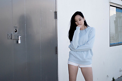 Crystal Aurelia - Pact Essential Sweatshirt - Sky Blue