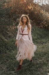 Marcela Wlodarczyk - Renne Tulle Skirt - Tulle skirt -autumn outfit