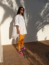 Marita -  - Colour block and oversize