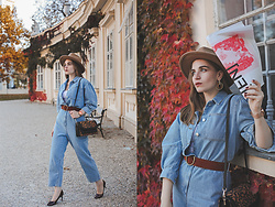 Daniela Guti - Jumpsuit, Bag, Hat, Pumps, Belt - NA-KD'S PERFECT JUMPSUIT