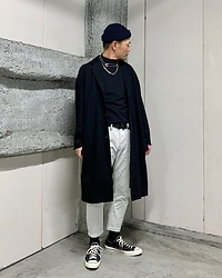 ★masaki★ - Neuw Denim Coat, Neuw Denim Jeans, Converse Ct70 - Simple Fits