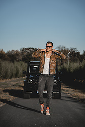 Alexander Renzl - Takeshy Kurosawa Black Jeans, Guess? Black Leather Belt, Asos Leo Jacket - BRABUS