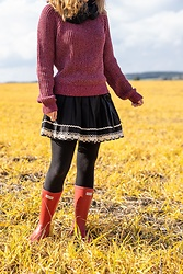 Hasche - Emp Skirt, Hunter Boots - Hunter Boots Countryside
