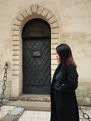 Zuza J. - Mohito Coat, Zara Turtleneck, Mango Trouses - Daily
