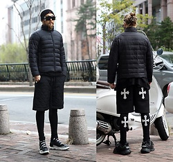 INWON LEE - Byther Ultra Slim & Light Wellon Padded Jacket, Byther Shorts, Byther Tights - Light Padded Jacket