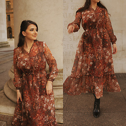Karolina G. -  - Diy maxi floral dress