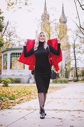 Aleksandra Siara - Even&Odd Dress - Black midi dress