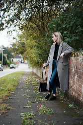 Daniella Robins - Marks & Spencer Coat - When In Doubt, Keep Your Style Simple