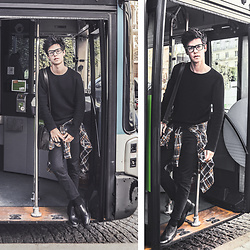 Vini Uehara - Guidomaggi Dress Shoes, Guidomaggi Black - Bus