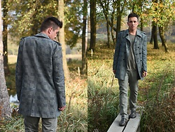 Pawel - G Star Raw Shoes, Nudie Jeans Coat, Hugo Boss Longsleeve - Bye bye november!
