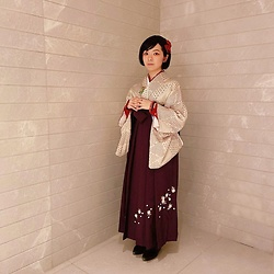 Flosmoony - 袴, 着物 - Hakama for Racing Event