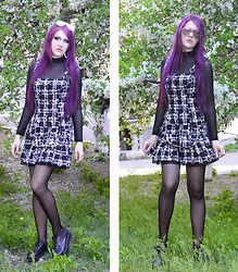 Slava Vais -  - Violet hair look