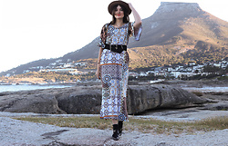 Lootsin Loots - Janas Dress, H&M Hat - Cape Town
