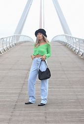 Claudia Villanueva - Asos Hat, Shein Cardigan, Shein Jeans, Shein Bag - Best Cyber Monday Shopping