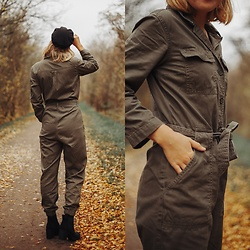 Kathrine Ottander -  - Army Boilersuit