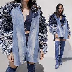 Janine Ramos - All Made By Me Using Old Jeans - Upcycled Denim