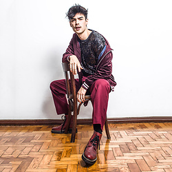 Vini Uehara - Guidomaggi Boots, Guidomaggi Bordeaux, Guidomaggi Height Increasing Shoes - UP TO