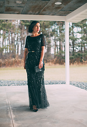 Lindsey Puls - Ever Pretty Evening Gown, Kate Spade Clutch - Evening Gown for the Holidays