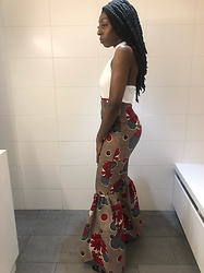 Ella Za' - Odelia Couture Pants, Jennyfer Top - Engagement Party