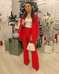 Mihaela Logoș - Dilerrybrand Pants, Dilerrybrand Top - Corporate Party 🎄