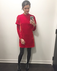 Anaïs Bon Cheap Bon Genre -  - Winter Red Dress
