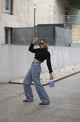 Claudia Villanueva - Femme Luxe Sweater, Pull & Bear Jeans, Nihao Jewelry Bag - See you next year