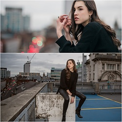 Georgia X - Shein Black Jumper, Livia Lazar Photos By - End of december