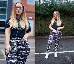 Emma Reay - Shein Camo Pants Gifted - CASUAL SUNDAY