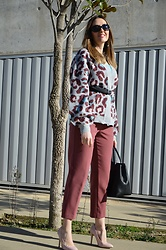 Elisabeth Green - Rosegal Cardigan - Animal Print Cardigan