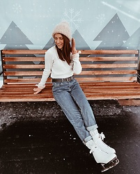 Anna Gurchenkova - Asos Jeans - Winter is good