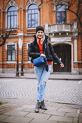 Aleksandra Siara - H&M Jeans, Shein Jacket - Spring in january