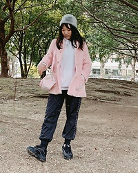 Andrea Lin -  - Pinky Sporty Look (that is warm)💓