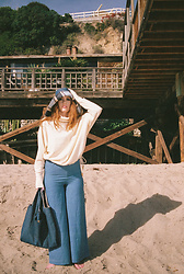 MelianJ - Bymelianj Ss20 Reversible Hat, Bymelianj Ss20 70s Denim Linen Drawstring Pant, Bymelianj Ss20 Oversized Drawstring Turtleneck, Bymelianj Ss20 Reversible Tote - SS20 byMelianJ