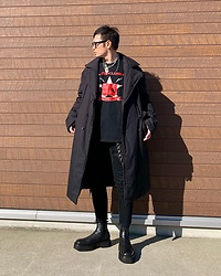 ★masaki★ - Komakino Coat, Neuw Denim Jeans, The Clash Band Tee, Asos Chelsea - What a Lovely Day