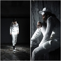 INWON LEE -  - Slim Knit Suit