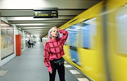 Irinka Andreeva - Monki Sweater - Next destination?