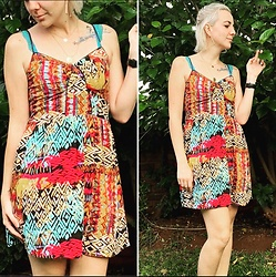 Sune Dreyer - Legit Multi Colour Dress - Boho Casual