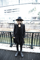 INWON LEE - Byther Fedora, Byther Top, Byther Black Boots - Darkwear in Korea