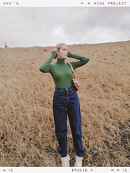Eva 에바 -  - Green&denim