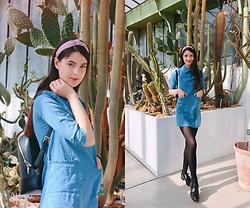 Nora Aradi - Zara Flats, Ted Baker Bag, New Look Headband - Jardin des Plants