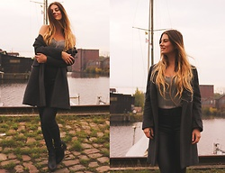 Jenny - Femmeluxe Top, Mango Coat, Primark Pants, Deichmann Shoes - SPRING