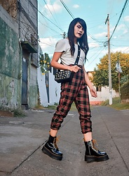 Krissia O - Dr. Martens Jadon Max - Empowered