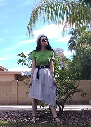 Saguaro Style - Ralph Lauren D Ring Belt, Maguba Of Sweden Rio Clogs, Ebay Baby Yoda Tee - St. Patrick's Day.